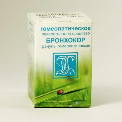 БРОНХОКОР (КОМПЛЕКС №36), гранулы гомеопатические 10г.