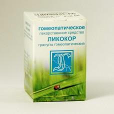 ЛИКОКОР (КОМПЛЕКС №3), гранулы гомеопатические 10г.