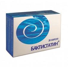 Бактистатин, капс. 500мг. №20